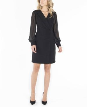 Nanette Lepore Blazers NANETTE LEPORE LONG SLEEVES DOUBLE BREASTED BLAZER DRESS