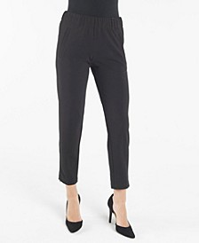 Slim Pull On Ankle Pant with Welt Pockets