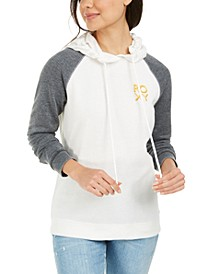 Juniors' True Harmony Graphic-Print Hoodie