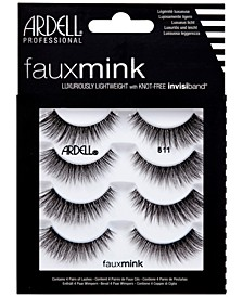 Faux Mink Lashes 811 4-Pack
