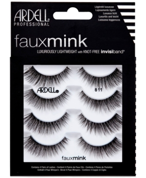 Faux Mink Lashes 811 4-Pack