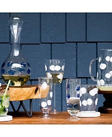 Vietri Drop Glassware Collection