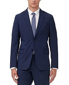 Men's Modern-Fit Micro Stripe Suit Jacket Separate