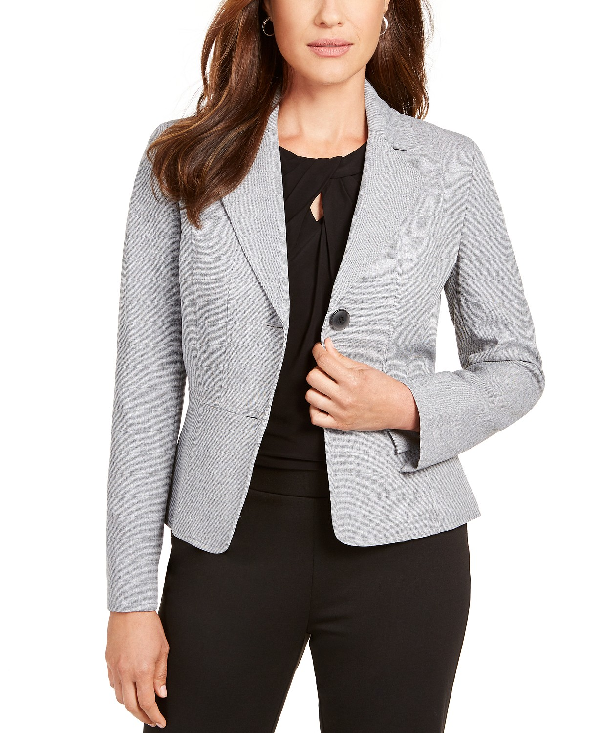 Petite Two-Button Blazer