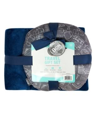 Bon Voyage Travel Pillow & Blanket Set