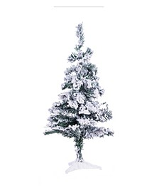 Flocked Snow Christmas Tree Collection