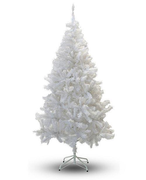 Perfect Holiday 4' Crystal White Christmas Tree