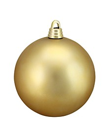 "Vegas Gold Shatterproof Matte Christmas Ball Ornament 12"" 300mm"