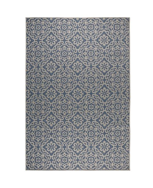 Nicole Miller  Patio Country Danica Blue Area Rug Collection