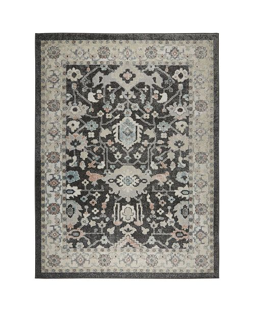 Shabby Chic  New Weave Paige Dark Gray Area Rug Collection