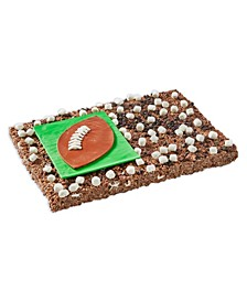 Hot Cocoa Football Party Bar Giant Rice Krispie Treat
