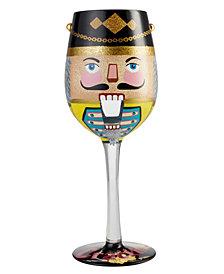 Enesco Lolita Wine Glass Get Crackin'