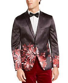 INC Men's Slim-Fit Floral Blazer, Created For Macy's