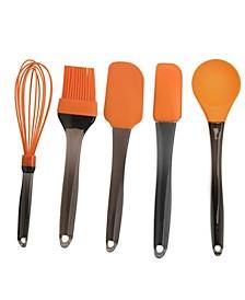 Geminis Silicone 6-Pc. Tool Set, Orange