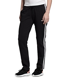 Women's Essentials 3-Stripe Fleece Pants