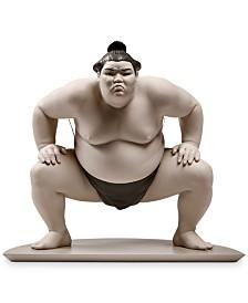 Lladró Sumo Fighter Figurine