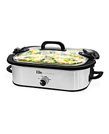 3.5Qt. Casserole Slow Cooker with Locking Lid