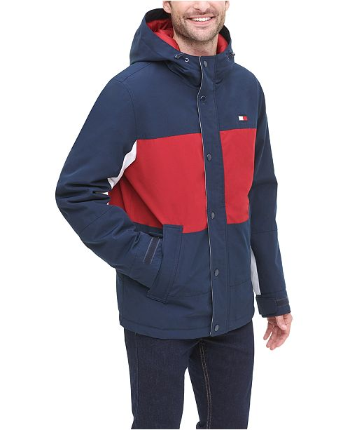 Tommy Hilfiger Men's Arctic Cloth Colorblocked Yachting Jacket