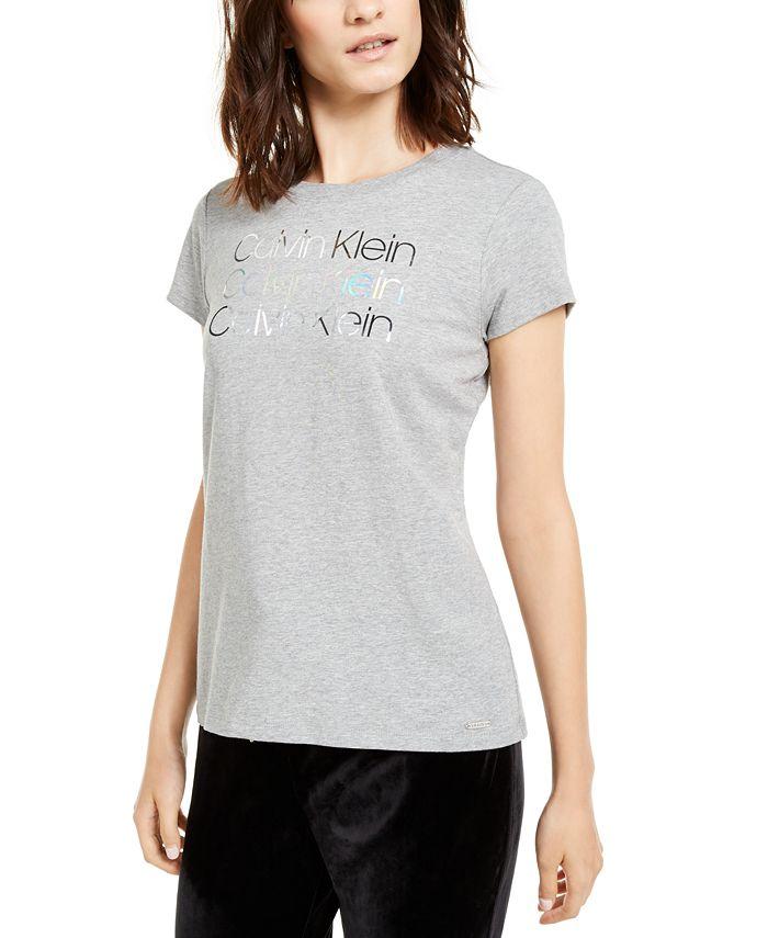 Calvin Klein - Foiled-Logo T-Shirt