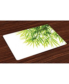 Bamboo Place Mats, Set of 4