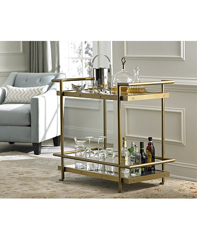 vitale bar cart furniture macy 39 s. Black Bedroom Furniture Sets. Home Design Ideas