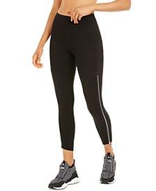 Side-Zipper High-Waist Leggings