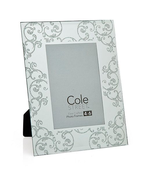 """Philip Whitney Silver Scroll Frame - 4"""" x 6"""""""