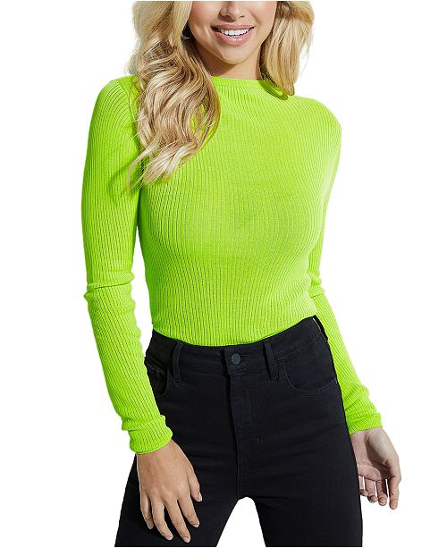 GUESS Mock Neck Sweater