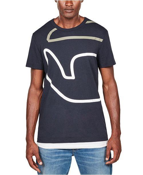 G-Star Raw Men's Graphic T-Shirt