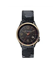 Men's Canyon Ridge Camo Nylon Strap Watch 42mm