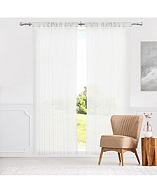 "Rod Pocket Curtains, 52"" W x 84"" H"