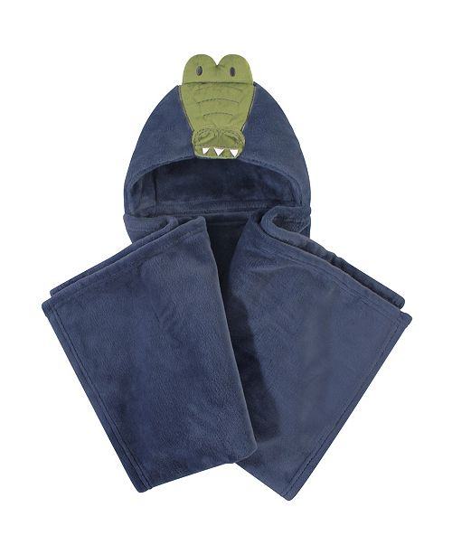 Hudson Baby Plush Blanket with Hood