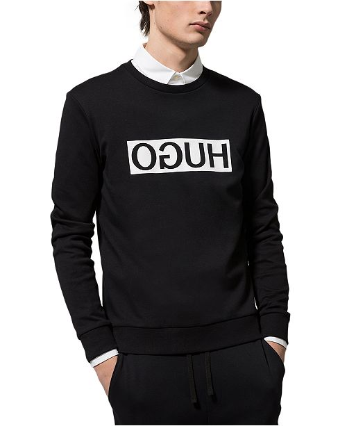HUGO Boss Men's Reverse Logo Sweatshirt
