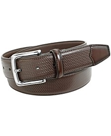 Marshall Woven Dress Leather Belt