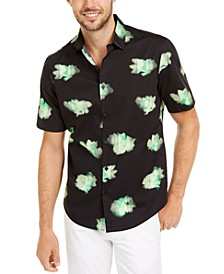 Men's Classic-Fit Abstract Floral-Print Shirt, Created For Macy's