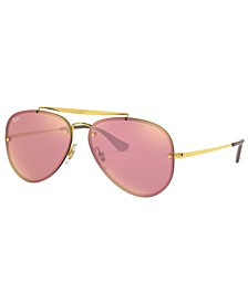 Sunglasses, RB3584N 61 BLAZE AVIATOR