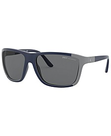 Polarized Sunglasses, PH4155 62