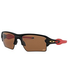 NFL Collection Sunglasses, San Francisco 49ers OO9188 59 FLAK 2.0 XL