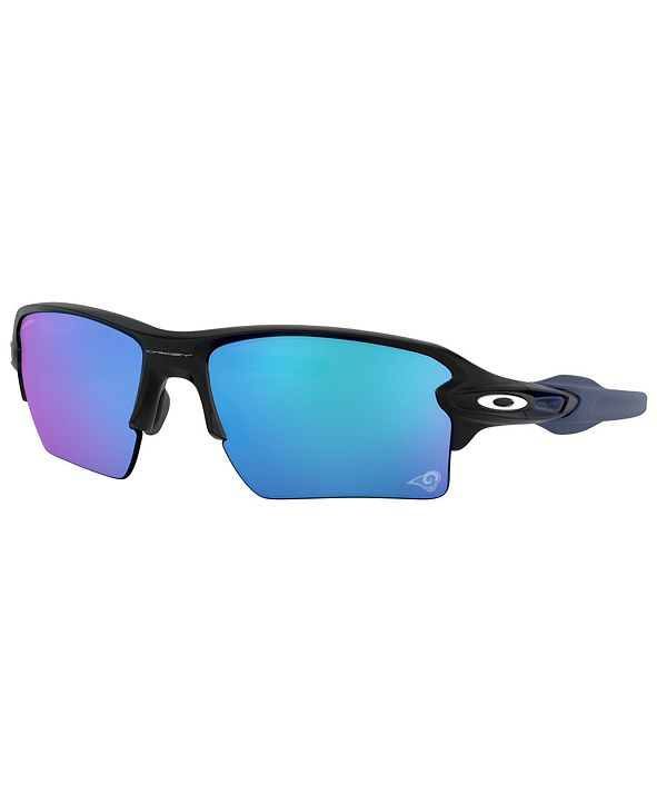 Oakley NFL Collection Sunglasses, Los Angeles Rams OO9188 59 FLAK 2.0 XL