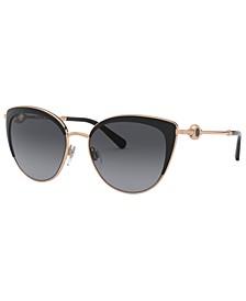 Bulgari Women's Polarized Sunglasses, BV6133