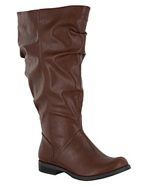 Peak Extra Wide-Calf Boots