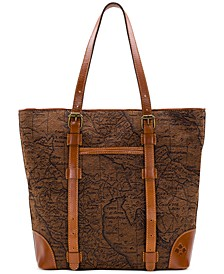 Jacquard Map Montry Tote
