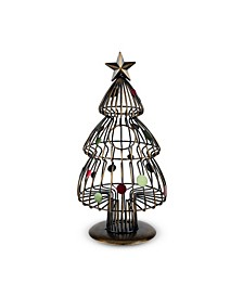 True Christmas Tree Wine Cork Holder