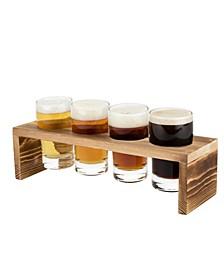True Beer Flight- 4 Glasses