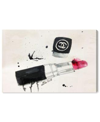 Lipstick Stains Canvas Art, 24