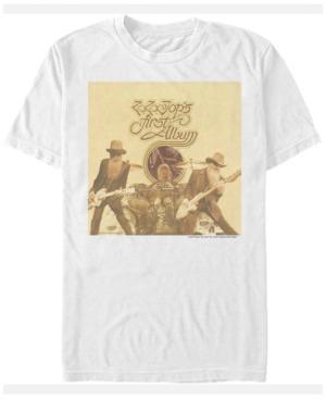 Zz Top Men's First Album Cover Short Sleeve T-Shirt