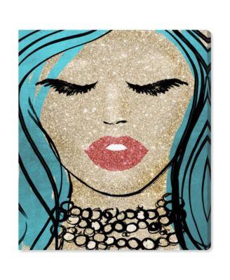 Mermaid Vibes Barbie Canvas Art, 17