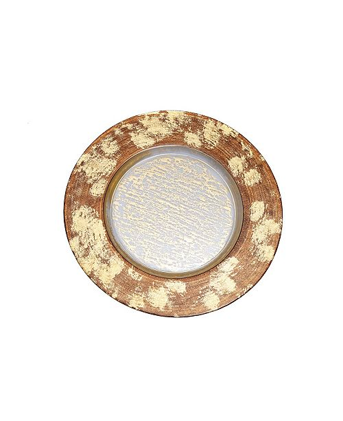Classic Touch Designed Charger Plate