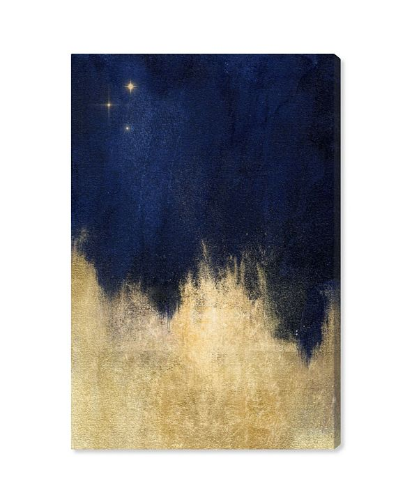 "Oliver Gal Stars At Midnight Canvas Art, 15"" x 10"""