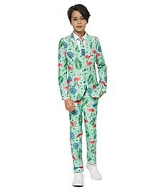 Big Boys Tropical Flamingo Suit